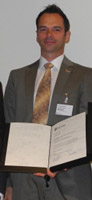 Dr. Andreas Bräuer bei der Preisverleihung. (Foto: CIPplus)