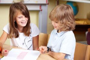 Gruppenarbeit in der Grundschule (Bild: Panthermedia)