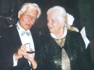 Prof. Dr. Ulrich und Ilse Zwickers (Bild: Zwicker-Stiftung)