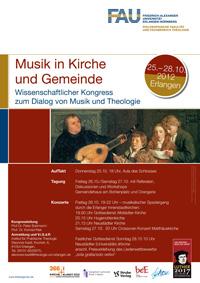 Plakat Kongress Musik in Kirche und Gemeinde