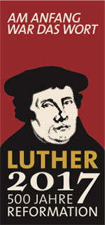 Plakat zur Lutherdekade