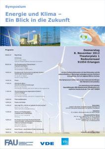 Plakat zum Symposium (Bild: FAU)