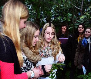 Schüler Botanischer Garten