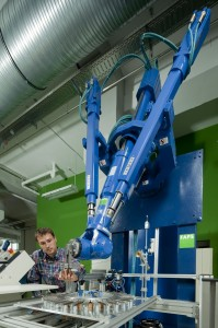 """Die """"grüne Fabrik"""" ist ein interdisziplinäre Forschungsprojekt für energiesparende Produktionstechnologien (Bild: FAPS)"""