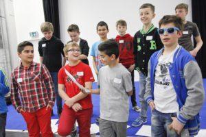 Teilnehmer des Boys' Day im Musik-Workshop (Bild: Iannicelli)