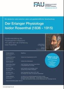 Plakat zum Rosenthal-Symposium (Bild: FAU)