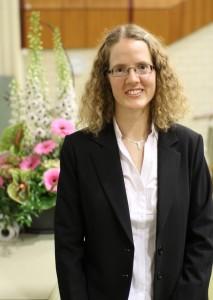 Preisträgerin Dr. Anke Bill (Foto: Ingmar Henz, FAU)