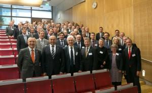 Mehr als 100 Universitätskanzlerinnen und Kanzler sind auf Einladung von FAU-Kanzler Thomas A.H. Schöck zur Tagung nach Nürnberg gekommen. (Foto: FAU/Erich Malter)