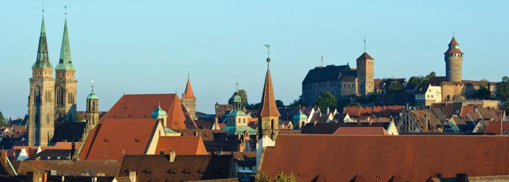 Panorama of Nuremberg (Image: Uwe Niklas)