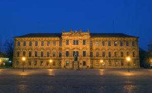 Erlanger Schloss (14. April 2003)