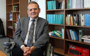 Prof Dr. Georges Tamer ist Inhaber des Lehrstuhls für Orientalische Philologie und Islamwissenschaft. Bild: Georg Pöhlein/FAU