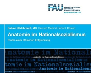 Flyer Anatomie im Nationalsozialismus