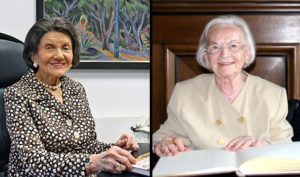 Henriette Schmidt-Burkhardt und Friedl Schöller waren zwei große Förderinnen der FAU (Bild: FAU)