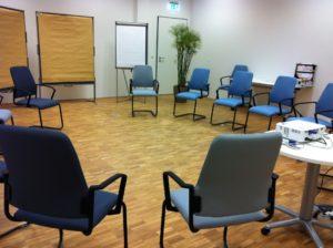 Die neuen Räume des Fortbildungszentrums Hochschullehre in der Fürther Uferstadt. (Bild: FBZHL)