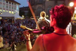 Bardentreffen festival in Nuremberg (Image: Uli Kowatsch)