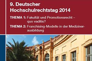 Der Deutsche Hochschulrechtstag 2014 findet in der Erlanger Orangerie statt. (Bild: FAU)
