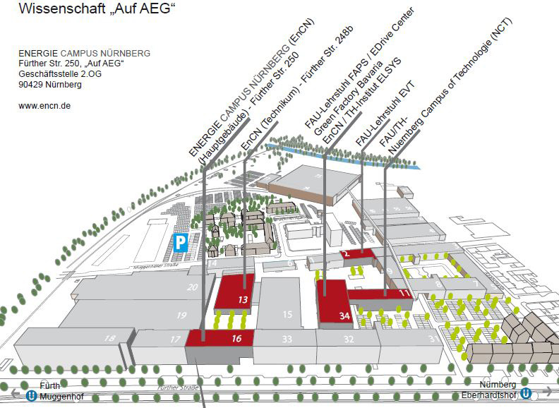 AEG site map