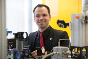 Dr. Andreas Bräuer Lerhstuhl für Technische Thermodynamik LTT. (Bild: Erich Malter)