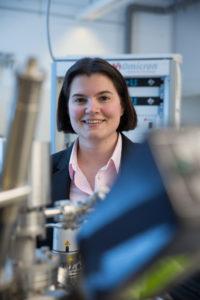 Prof Dr. Sabine Maier Juniorprofessorin für Experimentalphysik. (Bild: Erich Malter)