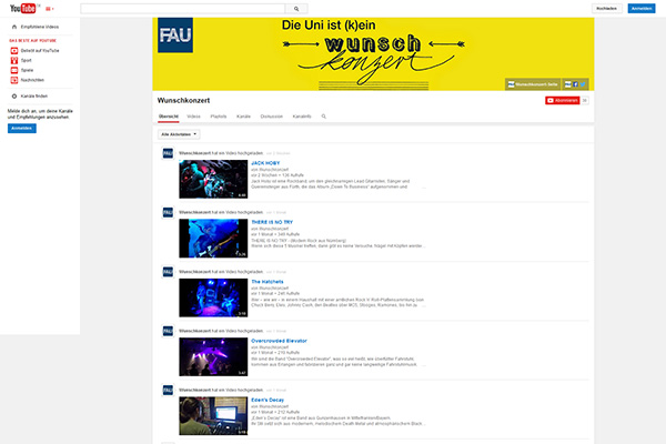 Screenshot von www.youtube.com/user/fauwunschkonzert.