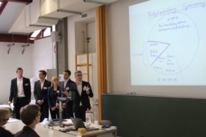 Nach erfolgreicher Bewerbung werden die neuen studentischen Unternehmensberater von ihren Kommilitonen umfassend geschult. (Bild: JCT)