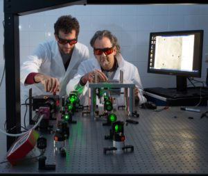 Dr. Ralf Palmisano (l.) und Dr. Tristan Nowak