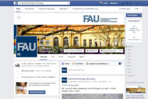 Screenshot facebook.com/Uni.Erlangen.Nuernberg