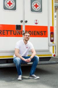 Seit 2 Jahren ist Stephan Lugert in der Bereitschaft Roßtal. (Bild: FAU/Franziska Sponsel)