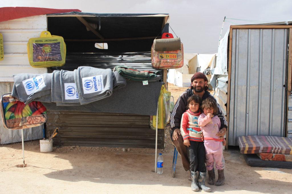 Im Zaatari-Camp hat sich eine rege Händlerszene etabliert. (Bild: Petra Bendel)