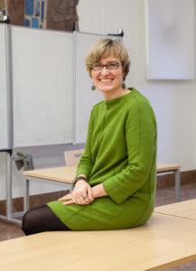 Prof. Dr. Magdalena Michalak vom Lehrstuhl für Didaktik des Deutschen als Zweitsprache. (Bild: Georg Pöhlein)