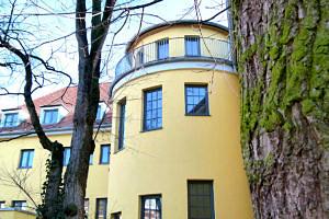Das Studentenhaus am Erlanger Langemarckplatz ist bald wieder geöffnet. (Bild: Studentenwerk Erlangen-Nürnberg)