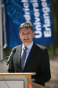 President Prof. Dr. Joachim Hornegger's speech