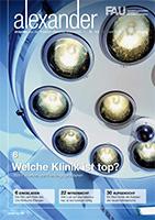 Cover FAU-Magazin alexander Nr. 102