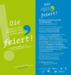 Flyer Sommerfest Bayerische Akademie des Schreibens
