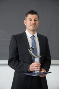 SAOT award winner Prof. Darko Zibar