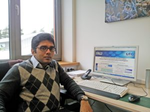 Forscher-Alumni-Interview mit Dr. Thaseem Thajudeen (Image: Wei Lin)