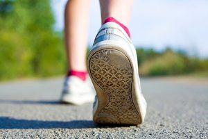 Jogging, sports shoes