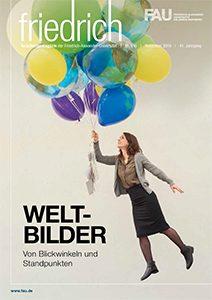 Cover FAU-Magazin friedrich 2016
