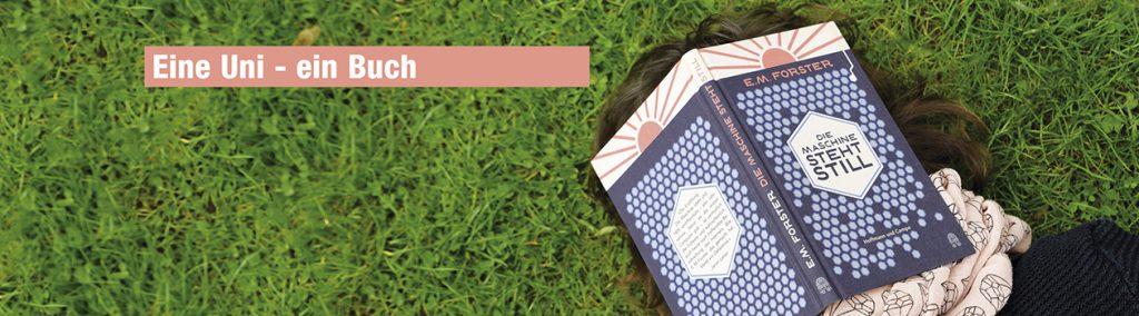 Frau liegt im Gras mit Buch auf dem Gesicht