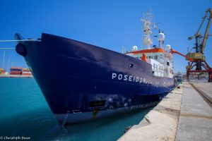 The Poseidon research ship (Image:Christoph Beier)