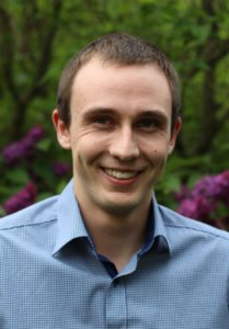 Andreas Spruck ist wissenschaftlicher Mitarbeiter am Lehrstuhl Multimediakommunikation und Signalverarbeitung der FAU und nahm 2016 an der Akademie teil. (Bild: Matthias Spruck)