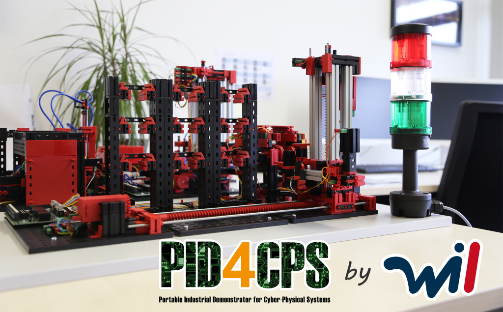 "Industrie-4.0-Demonstrator ""PID4CPS"""