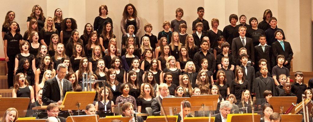 Für die Chorklassen von klasse.im.puls gibt es die Möglichkeit bei einem Konzert der Nürnberger Symphoniker aufzutreten. (Bild: Stephan Hummel)