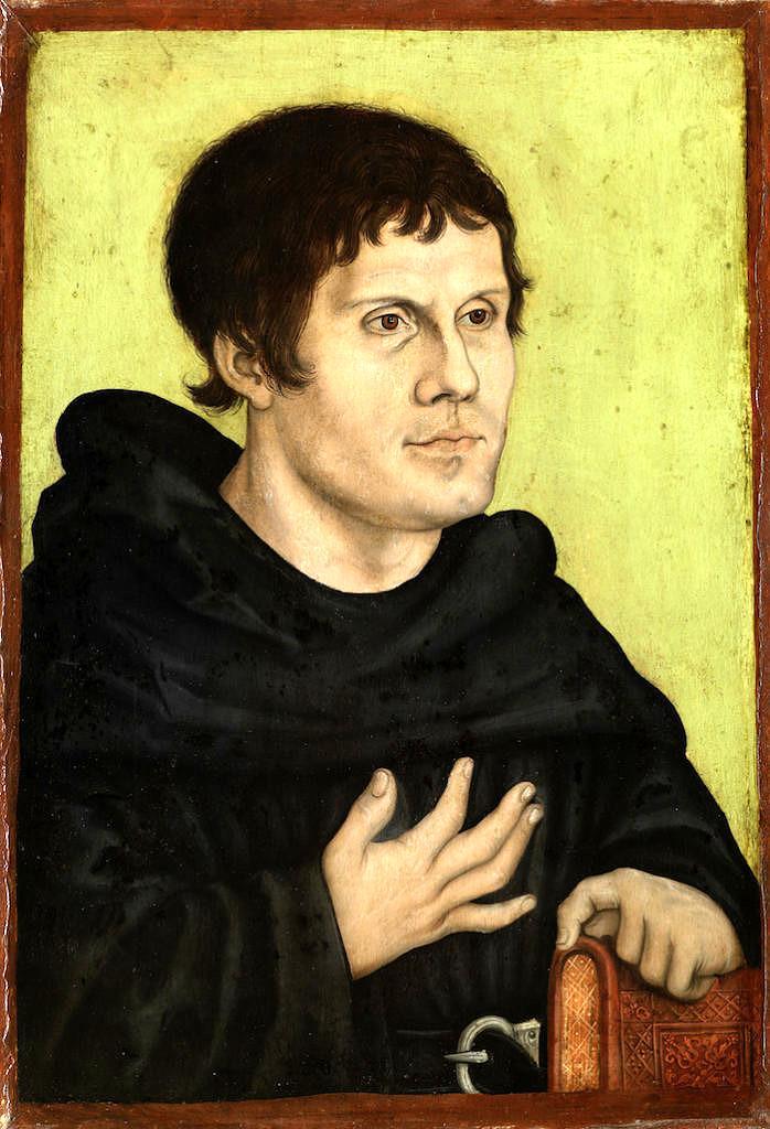 Gemälde Luther
