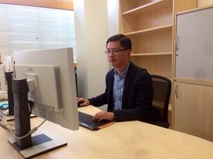 Dr. Xiaoming Chen (Bild: Pingfang Li)