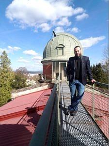 Der aus Venezuela stammende Dr. Javier Garcia ist als Stipendiat der Alexander-von-Humboldt-Stiftung am Astronomischen Institut der FAU tätig. (Bild: J. Garcia)
