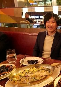 Sonomoto im Restaurant