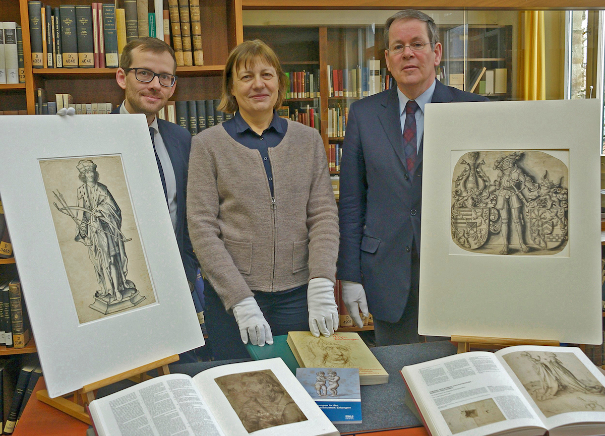 Presentation of Cranach's drawings