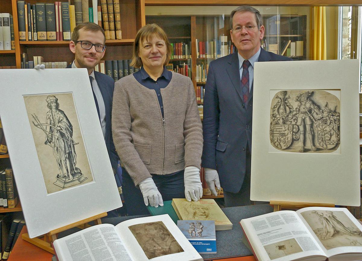 Präsentation von Cranach-Zeichnungen