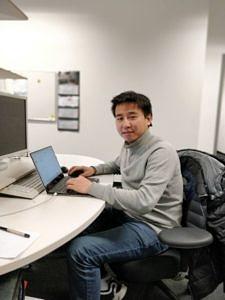Als Stipendiat der Alexander von Humboldt-Stiftung führt Dr. Bao seine Forschung am Lehrstuhl für Organische Chemie II der FAU bis Oktober 2019 fort. (Bild: Dr. Wanzheng Zhang)